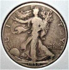 1938-D Silver Walking Liberty Half Dollar, Key Date