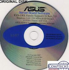 ASUS GENUINE VINTAGE ORIGINAL DISK FOR K8N-DRE Motherboard Drivers Disk S107