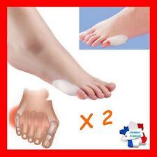 Ortheses X 2 Hallux Valgus PETIT ORTEIL Silicone oignons déformation pieds