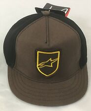 Alpine Star Article 4W Emblem Hat 621055 Brown One Size