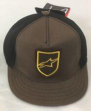 Alpinestars Alpine Star Article 4W Emblem Hat 621055 Brown One Size