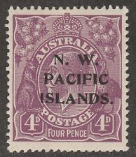Kappysstamps M2297 Australia Nw Pacific Islds Scott # 47 Mint Hinge Catalog =$23