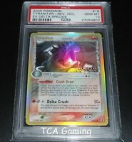 PSA 10 GEM MINT Tyranitar 16/113 Ex Delta Species REVERSE HOLO Pokemon Card