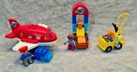 Lego Duplo airport plane set with fuel truck 10590 complete ages 2-5 Free UK P&P