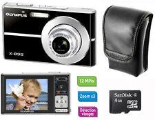 Fotocamera Olympus X-895 + Custodia + Memoria MicroSD 4 GB