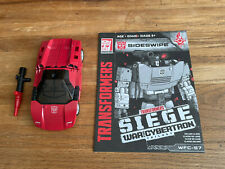 New Transformers War For Cybertron Siege Sideswipe COMPLETE