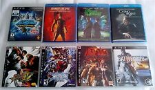 PS3 Lot and Blu-Ray Lot - New, Sealed and Excellent! Action Titles