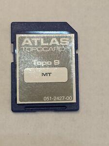 Montana MT ATLAS Topocard 9 MMC Sd Card