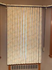 Vertical Window Panel Privacy Blinds White Cream Bedroom Living Room Sun Shades