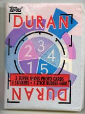 DURAN DURAN - 1 Unopened Packet - TOPPS TRADING CARDS 1985