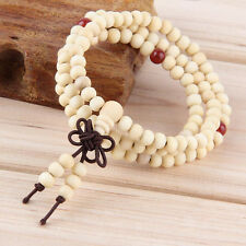 Sandalwood Buddhist Meditation 6mm*108 Prayer Bead Mala Bracelet/Necklace#HOT