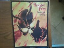 MERCYFUL FATE,DON'T BREAK THE OATH, SEW ON SUBLIMATED LARGE BACK PATCH