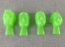 Vintage Hong Kong Hard Plastic Great Presidents Whistles NOS Novelty Green