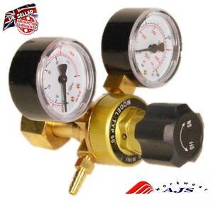 New Gas bottle regulator CO2 Argon Mig Tig Welding 0-315 bar pressure reducing