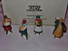 Dept 56 Shopkeepers Set Of 4 59668