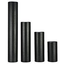 Extra Firm Foam Roller High Density Yoga Muscle Back Pain Trigger Massage Black