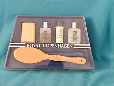 VINTAGE ROYAL COPENHAGEN 5 PIECE GIFT SET - SOAP, COLOGNE, TALC, HAIR CONDITION