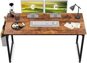 "CubiCubi Study Computer Desk 47"" Home Office Writing Small Desk, Modern Simple"