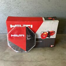 Hilti Dsh 900 X 16 Gas Concrete Cut Off Saw With Blade P 16x1