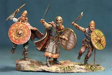 Tin toy soldiers ELITE painted 54 mm Vikings in the attack