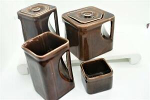 Cunard Steamship Cube China Set of Coffee, Tea, Creamer & Waste /Liverpool