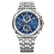 Maurice Lacroix AI1018-SS002-430-1 Men's Aikon Chronograph Wristwatch