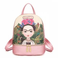 FJC930 Authentic Frida Kahlo Cartoon Series Small Backpack