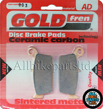 GOLDFREN REAR BRAKE PADS For: HONDA XR 250 (Rear Disc models) XR250 ROAD BIKE