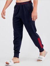 Calvin Klein Men's Leg Logo Jog Pant In Navy/Red