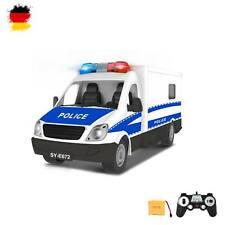 RC ferngesteuerter Polizeiauto mit Sirene und Licht, Auto,Police Fahrzeug-Modell