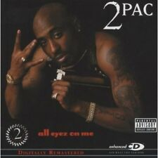 2Pac - All Eyez on Me [New CD] Explicit, Rmst, Enhanced