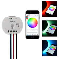 12-24V Bluetooth RGBW/WW led controller smartphone control UFO color changing