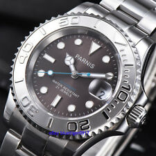 Sapphire Glass Japan Miyota Movement Parnis 41mm Men Automatic Waterproof Watch