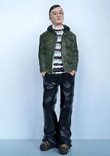 1:12 - Puppenhaus Miniatur - Junger Mann Teenager (Polyresin)