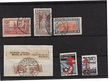 España. Conjunto de series completas usadas y sello bisectado