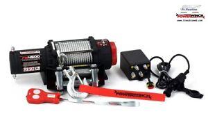 Kangaroo winch ARGANO VERRICELLO ELETTRICO 12V TELECOMANDO WIRELESS k4500lb
