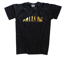 GOLD Edition Drummer Schlagzeuger Evolution T-Shirt S-XXXL