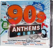 The Ultimate Nineties Anthems 5 CD Songs 1990s Music Tracks Original Recordings
