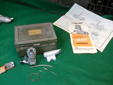 Vintage McCoy 19 RV Glow Engine for Control Line and Free Flight Model Airplanes