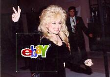 "DOLLY PARTON waving - 1992 - Original 8 x10"" photo"