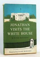 Peter Benchley Richard Bergere 1st Ed 1964 Jonathan Visits The White House HC DJ