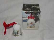 Hutschenreuther Weihnachtsglocke 1986 Fjordland + Originalkarton    #2318