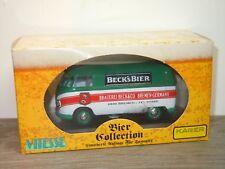 VW Volkswagen Transporter T1 Beck's Beer - Vitesse Kager 1:43 in Box *34410