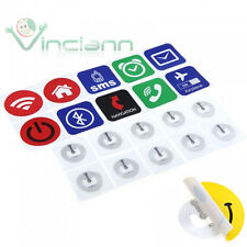 10x Smart Tag NFC Technology stickers for Sony Xperia z1 Compact Profile tags
