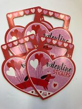4 packs (171 / pack) Valentine's Day stickers party favor teacher supply