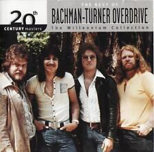 BACHMAN-TURNER OVERDRIVE CD - BEST OF: THE MILLENNIUM COLLECTION (2000) - NEW