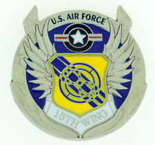 CCM COMMAND CHIEF MASTER SERGEANT 15th Wing Excellence Air Force Challenge Coin
