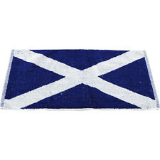 Scotland Flag Bar Towel - Scottish Towels Home Pub Decor Collectible - Man Cave