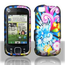 Flower Blast Hard Case Cover for Motorola Cliq 2 MB611