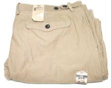 Dockers 400520025 D2 Brown Straight Fit Flat Modern Khaki Pants 38x30 NWT $75